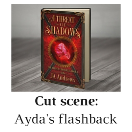 A threat of shadows cut scene Ayda the elf