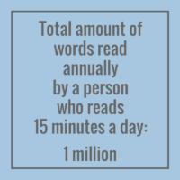 Did you know it's easy to read a million words?