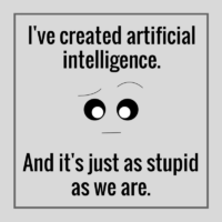 Did you know that we don't need to be worried about artificial intelligence?