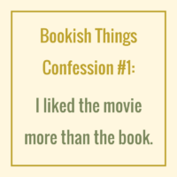 Bookish Things Confession