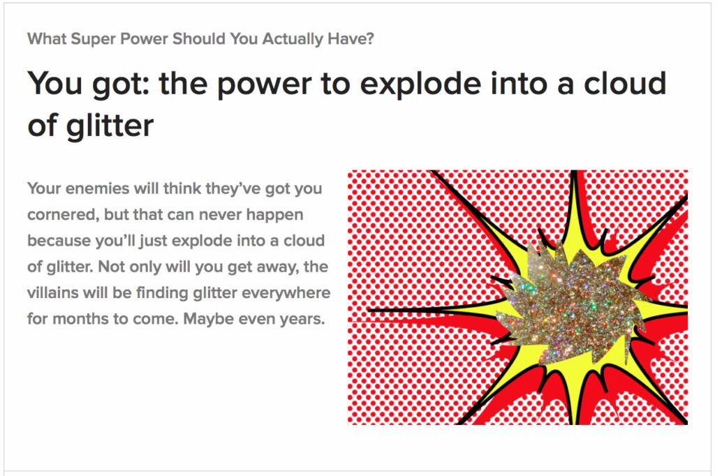 Superpower Glitter