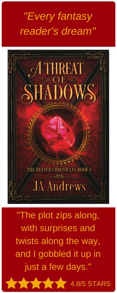 A Threat of Shadows every fantasy reader's dream with twists and turns