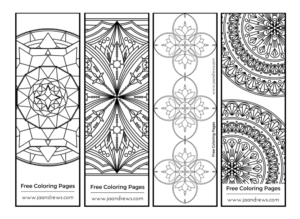Free Coloring Pages - JA Andrews