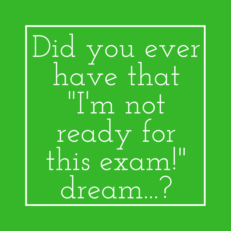 Have you ever had that dream   ? - JA Andrews