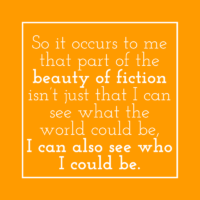 The beauty of reading fiction